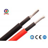 Buy cheap Double Insulated 4mm Dc Solar Cable Tinned Copper Conductor For Solar Panels product
