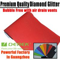 Buy cheap Brilliant Diamond Sanding Glitter Vinyl -- Sparkle Wrap Red product