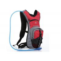 Buy cheap Red Nylon & Dacron Cycling Water Pack , 2L Hydration Backpack For Hiking from wholesalers