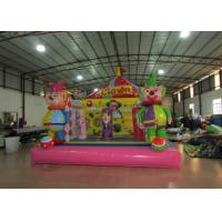 Inflatables Clown Baby Bounce House , Indoor Games Toddler Bouncy Castle 5 X 5m