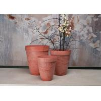 Buy cheap Round Fashionable Indoor Decorative Planters Plain Recycled Patented SPW Material product