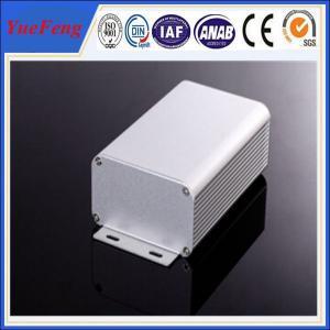 Buy cheap 80*45*MM ALUMINUM EXTRUSION ELECTRONIC COMPONENT ENCLOSURE ANODIZING ALUMINIUM ENCLOSURE product