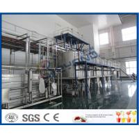 Buy cheap PLC Control Beverage Production Line For Tea beverage Manufacturing Industry product