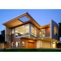 Quality Luxurious Prefabricated Steel House / Light Steel Frame Prefab Metal House ETC for sale