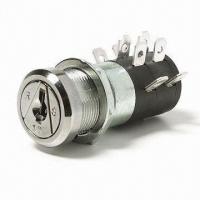Buy cheap OEM/ODM Electronic Key Switch Lock with 2 or 4 Terminals from wholesalers
