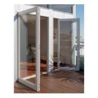 Buy cheap Commercial Aluminum Hinges Swing Door Surface Finished Sound Insulation product
