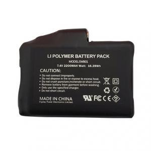 Buy cheap 15Wh 2000mAh 2S 7.4V Li Polymer Battery Pack product