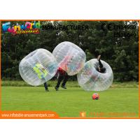 China TPU / PVC Inflatable Zorb Ball / Adult Body Bumper Ball For Entertainment on sale