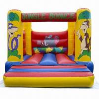 Buy cheap Inflatable Bouncer, Made of Commercial Grade Mesh Reinforced PVC Tarpaulin product