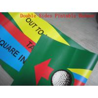 Buy cheap Custom Made Reinforced Pvc Vinyl Banners Double Sided 1440 Dpi Printing product