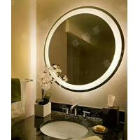 Buy cheap Iron back framed electric backlit bathroom mirror led light up mirror 80x80x3 from wholesalers