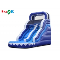 China Amusement Park Oxford Cloth Adult Inflatable Water Slide on sale