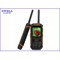 Quality SWELL Rugged Waterproof Smartphone With Gps Tracker Walkie Talkie X6 for sale
