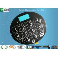 Buy cheap Blue LCD Window FPC Membrane Switch With 3M468 Back Adhesive Matte Finish product