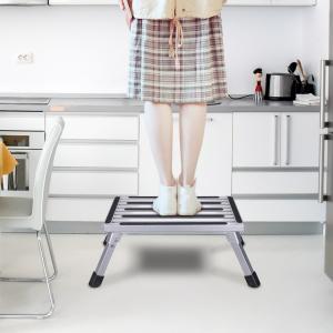 Buy cheap Customized Color Aluminum Work Platform Ladder Type 60*60cm 150KG Capacity product