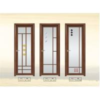 Buy cheap 1.4 mm Clear Glass Interior Aluminium Casement Door With Grill Design from wholesalers