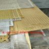 Buy cheap aluminum white hexagonal hole perforated metal sheet screen product