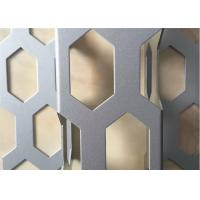 Buy cheap Corrugated Perforated Aluminum Sheet Black 4x8 0.1mm~20mm Thickness product