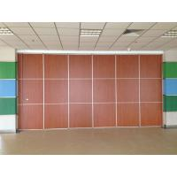 Buy cheap Thickness 65mm Sliding System Removable Wall Partition / Exhibition Acoustic from wholesalers