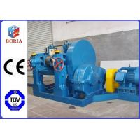Buy cheap Manual Type Rubber Mixing Equipment , Intermix Rubber Mixer With ZQ Reducer product