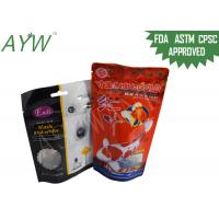 Buy cheap Stand Up Food Packaging Pouches Clear Window For Fish Feeds / Dental Stick Dog Treats from wholesalers