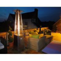 Buy cheap Powder Coated SS Square Patio Heater For Garden 490mm*490mm*25mm Base Size product