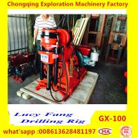 Quality China Made GX-100 Mini Geotechnical Drilling Rig for Soil Investigation withIN 100 m Depth with SPT equipment for sale