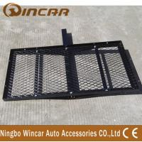 Buy cheap Steel Material Rear Bike Carrier Hitch Mount Cargo Carrier Basket product
