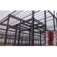 Buy cheap 3 Hours White Fire Intumescent Paint Fire Rating For Steel Beams Cementitious product