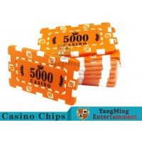Buy cheap Custom Design Cheap Casino Poker Chips , ABS Plastic Numbered Poker Chips  product