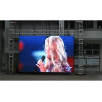 Buy cheap P10 mm SMD 5050 Rental LED Screen , 50Hz 16*16 Led Display Board product