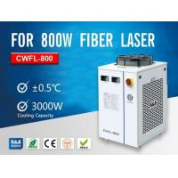 Buy cheap Dual Cooling Circuit Water Chillers CWFL-800 With CE Approval For Cooling Fiber Lasers product