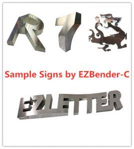 Quality EZCNC Channel Letter Bending Machine/CNC Sheet Metal Machine auto feeding for sale