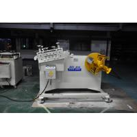 Buy cheap 2 in 1 Steel Plate coil Decoiling And Straightening Machine For Press Machine product