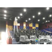 Buy cheap Unique Dynamic 5D Simulator With Genuine Leather 5D Durable Electric Seats And Professional Decoration product