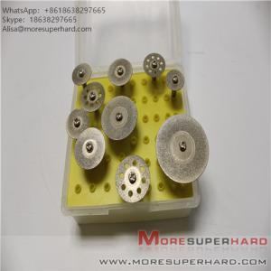 "Quality Diamond Cutting Wheel, 10PCS 1/8"" Diamond Cutting Discs Cut-off Wheel Blades Set for sale"