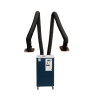 Buy cheap PP Hood 2600m3/H Explosion Proof Mobile Dust Eliminator from wholesalers