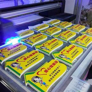 China Plastic Board UV Flatbed Printer on sale