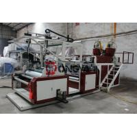 Buy cheap Three Layers Stretch Film Extruder Machine HDPE / LDPE Material product