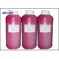 Buy cheap Epson Eco Solvent Ink For Dx5 Dx6 Dx7 / Artificial Leather Printing product