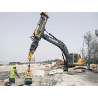 Quality KM Series Excavator Telescopic Boom Arm For Digging Soil Foundation Drilling Equipment for sale