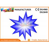 Buy cheap LED Flower And Star Inflatable Lighting Decoration For Party / Stage Decoration product