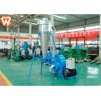 Buy cheap Corn Animal Feed Crusher Stainless Steel Hammer Mill Grinding With Cyclone product