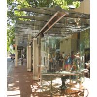 Buy cheap Transparent Toughened Laminated Glass ASMT Standard Light Green product