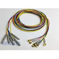 Buy cheap BCI Researcher EEG Electrode Cap Used Multicolor Coated Gold EEG Electrodes Din 1.5 product