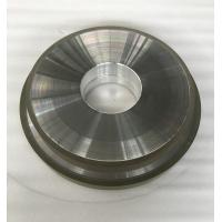 Buy cheap Abrasive Grit Resin Bonded Diamond Grinding Wheels Flat CBN Hole 127mm Width 10mm product