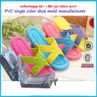 Buy cheap Steel Flip Flop Mold High Strength Corrosion Resistant Plastic Shoe Molding product