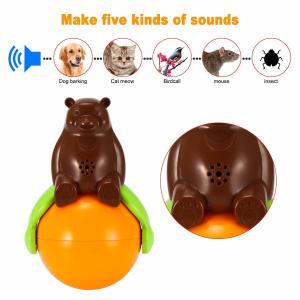 4.2v Cute Pet Toys Sound And Light Ball Lr44 Battery Five Kinds Of Sounds