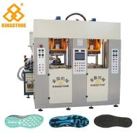 Buy cheap Static Type Double Stations TPR Sole Making Machines Two Injector 70-100 Pairs Per Hour from wholesalers
