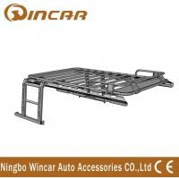 Buy cheap Jeep Wrangler Automotive Roof Rack Basket Iron Body No Net With Ladders product